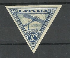 LETTLAND Latvia 1921 Michel 76 B * - Lettland