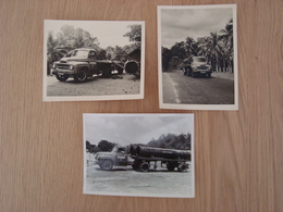 LOT DE 3 PHOTOS CAMION SOCOMAN - Cars