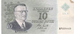 FINLANDE 10 Markkaa 1963 - Finland