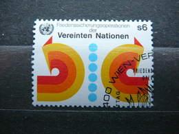 Maintenance Of Peace # United Nations UN Vienna Austria 1980 Used #Mi. 11 - Oblitérés