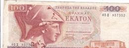 Billet - Grèce - 100 Drachmai - Ekaton - 1978 - Greece
