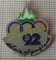 JO ALBERTVILLE 92   RELAIS OLYMPIQUE - Olympische Spelen
