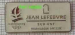 JO ALBERTVILLE 92 Sponsor JEAN LEFEBVRE SUD EST 1992 - Olympische Spelen