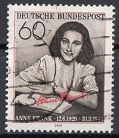 Germania 1979 Sc. 1293 Anna Anne Frank Ebre Vittima Nazismo Used Bundespost Germany - Seconda Guerra Mondiale