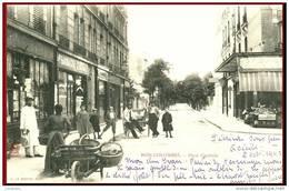 TRES BEAU PLAN DE BOIS-COLOMBES  (92) - LA  PLACE CENTRALE EN 1903  -   Bb-93 - Colombes
