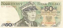 POLOGNE POLAND 50 Zlotych 1988 / TBE - Pologne