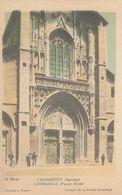 Cp , CARTES , CHAMBÉRY , CATHÉDRALE (Façade Ouest) - Cartes