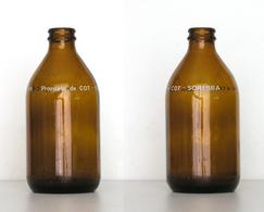 Bouteille Sérigraphiée Bière Societe Reunionnaise De Brasserie (Sorebra) Réunion - Bière