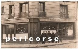75  Paris  Café  Lacroix - Au Rendez Vous Des Chauffeurs Rue Yvart Et Rue Marmontel (carte Photo) - Arrondissement: 15