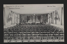 CPA  Estaimpuis-Herseaux Pensionnat St.J.Bte De La Salle   Salle Des Fêtes - Estaimpuis