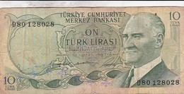 TURQUIE 10 Lirasi / Livres  , Loi De 1930 - Turquie