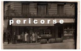 75  Paris   Epicerie  Pierrot Gourmant  Rue Marmontel  (carte Photo) - Arrondissement: 15