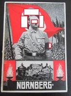 Postkarte Propaganda Reichsparteitage Nürnberg - Hitler - 1934 - Erhaltung II - Briefe U. Dokumente