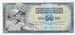 YOUGOSLAVIE 50 Dinara 1968 /TTB - Yougoslavie