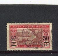 COTE D'IVOIRE - Y&T N° 106° - Costa D'Avorio (1892-1944)