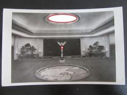 Postkarte Int. Automobilausstellung 1939 IAA - KdF-Wagen / VW Käfer - Ehrenhalle - Briefe U. Dokumente