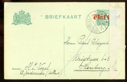 HANDGESCHREVEN BRIEFKAART Uit 1921 Van GOEDEREEDE Naar HAMBURG  (11.546n) - Postal Stationery