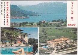 Gf. VILLA DI SALO. Hotel Ristorante Panoramica. 305-067 - Brescia