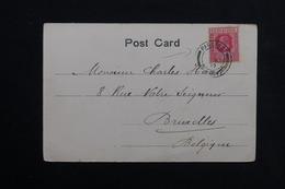 SIERRA LEONE - Oblitération Maritime Sur Carte Postale De Freetown Pour La Belgique En 1907 - L 28574 - Sierra Leone (...-1960)
