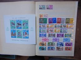 RWANDA ANNEES 60-70s. MAJORITES NEUFS** (2470) 700 Grammes. - Rwanda