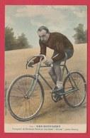 """Coureur Cycliste / Wielrenner / Ciclista - Cyrille Van Hauwaert ( 1883-1974 ) """" Alcyon"""" , Pneus Dunlop  (voir Verso ) - Cyclisme"""