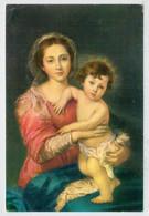 MADONNA   CON   BAMBINO     (MURILLO)         (VIAGGIATA) - Paintings
