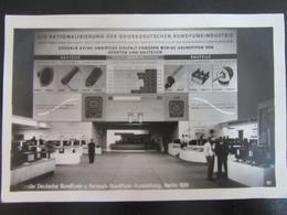 Postkarte Rundfunk- Und Fernseh-Ausstellung Berlin 1939 - Erhaltung I-II - Briefe U. Dokumente