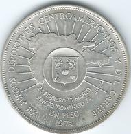 Dominican Republic - 1974 - 1 Peso - 12th Central American & Caribbean Games - KM35 - Dominicana