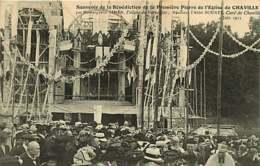040519 - 92 CHAVILLE Souvenir De La Bénédiction De La Première Pierre De L'église Monseigneur GIBIER Abbé BOURET 1911 - Chaville