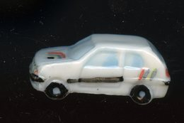 """FEVE - FEVES -  """"ROULE GALETTE 1994"""" PRIME - 106 XSI  - VOITURE - Charms"""
