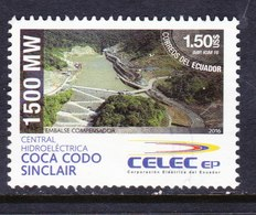ECUADOR, USED STAMP, OBLITERÉ, SELLO USADO. - Ecuador
