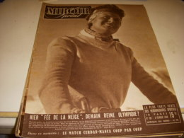 MIROIR SPRINT 089 03.02.1948 JO HIVER St MORITZ SKI THIOLLERE CYCLSIME PELISSIER - Sport
