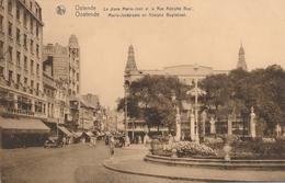 CPA - Belgique - Oostende - Ostende - La Place Marie-José Et La Rue Adolphe Buyl - Oostende