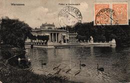 POLOGNE - WARSZAWA PALAC W LAZIENKACH - CACHET INTERESSANT EMILE ROBERT - Poland