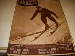 MIROIR SPRINT 094 09.03.1948 SKI COUTTET SEGHI BOXE CERDAN CYCLO CROSS RONDEAUX - Deportes