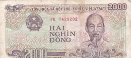 VIET NAM / 2000 DONG 1988 - Viêt-Nam
