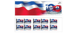 GREECE STAMPS 2019/100 YEARS DIPLOMATIC RELATIONSHIPS GREEK/POLAND-MNH-SELF ADHESIVE-BOOKLET-30/4/19(3000pcs Only!!) - Greece