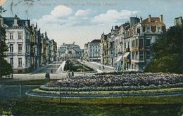 CPA - Belgique - Oostende - Ostende - Kursaal Et Square Fleuri De L'avenue Léopold - Oostende
