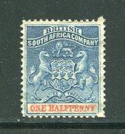 AFRIQUE DU SUD (compagnie De L'Afrique Du Sud)- Y&T N°16- Neuf Sans Gomme - Afrique Du Sud (...-1961)
