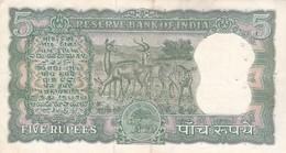INDIA / 5 RUPEES / TTB - Inde