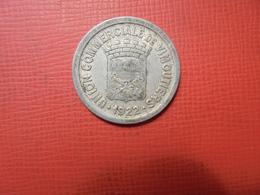 VIMOUTIERS 10 CENTIMES 1922 MONNAIE DE NECESSITE (PLANCHE.5) - France
