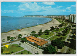 SANTOS  SP    VISTA  PANORAMICA   AQUARIO  MUNICIPAL        (NUOVA) - Brasile