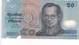 THAILANDE - Billet De 50 Baht - Thaïlande