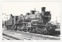 REPRO PHOTO VOIR DOS Tampon Club AMFI Arcueil Train Wagon Locomotive Vapeur 232 D Cie Des CF Du Nord N°3.563 - Reproductions