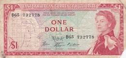 EAST CARIBBEAN  / BILLET DE 1 DOLLAR - Caraïbes Orientales