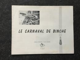 19A - 1965 Photo Visite Royale Beaudoin  Le Carnaval De Binche - Histoire