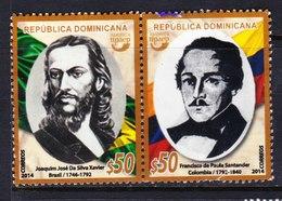 REPUBLICA DOMINICANA, USED STAMP, OBLITERÉ, SELLO USADO. - Dominican Republic