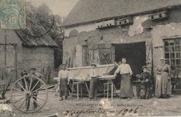 CPA 28 BOUGLAINVAL - Atelier De Charrons - Forge - France