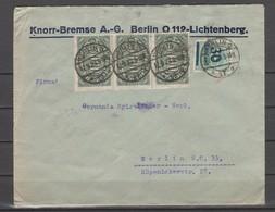 DEUTSCHES REICH. Infla-marken, Mehrfachporto - B - Allemagne