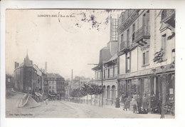 SP- 54 -  LONGWY - BAS - Rue De Metz - Chien - Confection - Timbre - Cachet - 1908 - Longwy